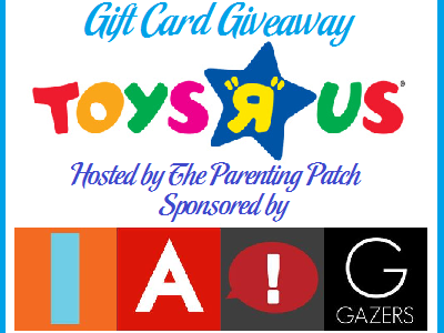 "Join the ""In The News"" April Showers $100 Toys R US GC Giveaway"