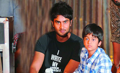 Sudheer Babu with Son