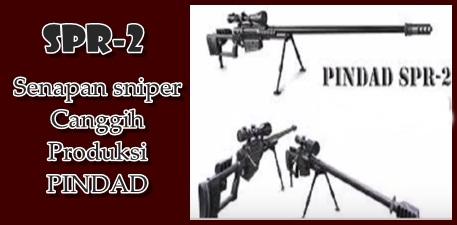Spesifikasi senapan sniper SPR-2 paling canggih buatan PINDAD Indonesia