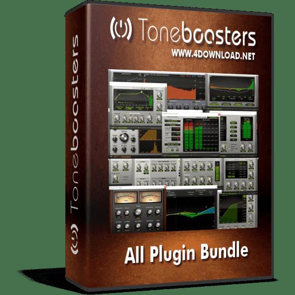 Download ToneBoosters - All Plugin Bundle v1.2.4 Full version