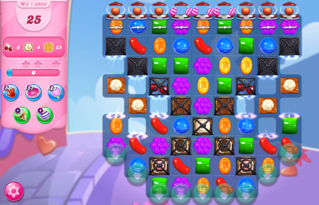 Candy Crush Saga level 6056