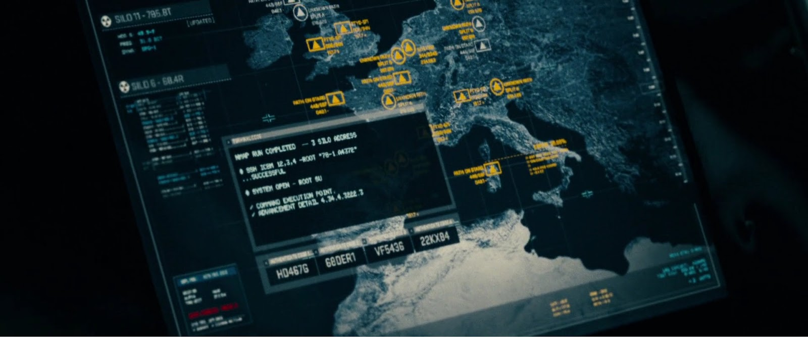 G.I. Joe: Retaliation nmap cameo