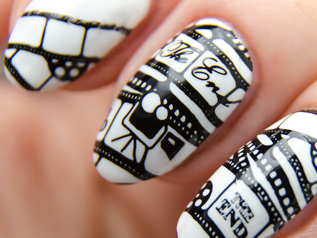 MoYou London black stamping polish