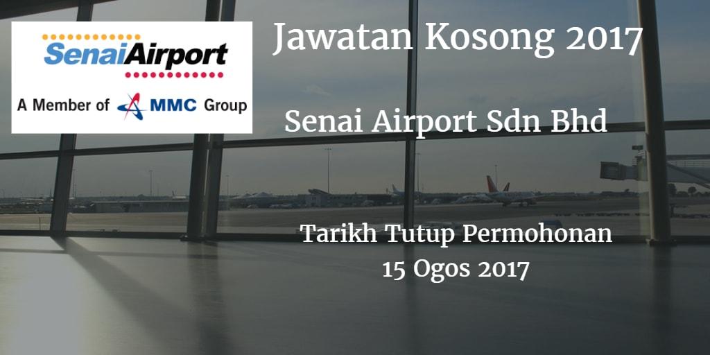 Jawatan Kosong Senai Airports 15 Ogos 2017
