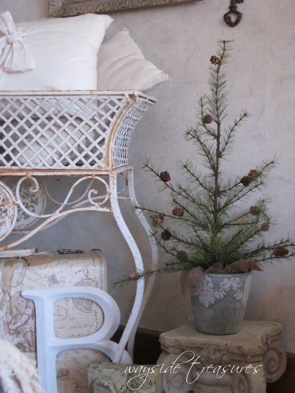 Wayside Treasures Decorating In Silver And White And