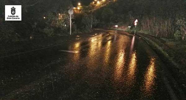 fin de alerta por lluvias en Gran Canaria y Tenerife, 23 febrrero