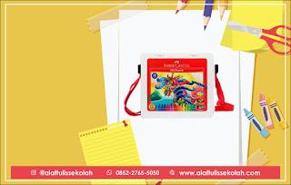 harga wax crayon faber castle, 0852-2765-5050