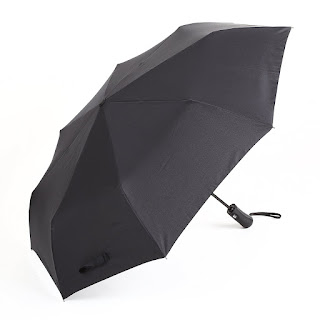 Big Umbrella Auto Open Close enough for 2 person, Amzdeal Black Umbrella £10.99