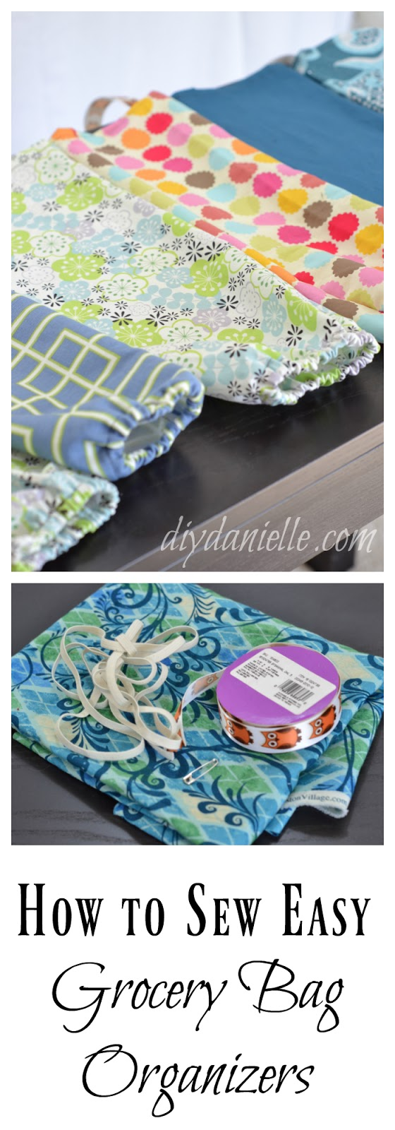 Easy DIY Grocery Bag Holders: Tutorial