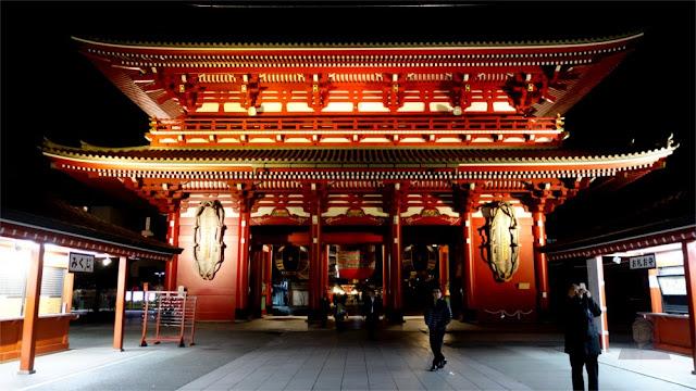 Hozomon Gate di Sensoji Temple