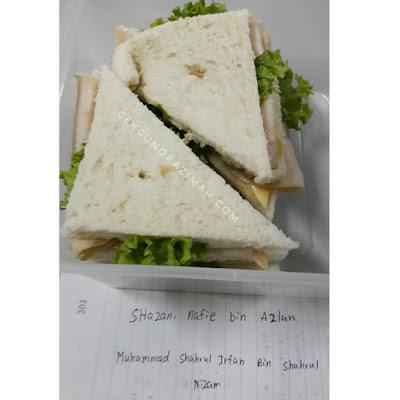 aktiviti kelab rekacipta & inovasi, kelab rekacipta dan inovasi, mencipta resepi berasaskan roti, kokurikulum, aktiviti kokurikulum, puding roti, roti sandwich
