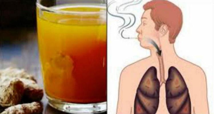 للمدخنين والمدخنين السابقين : هذا الشراب سينظف رئتيك