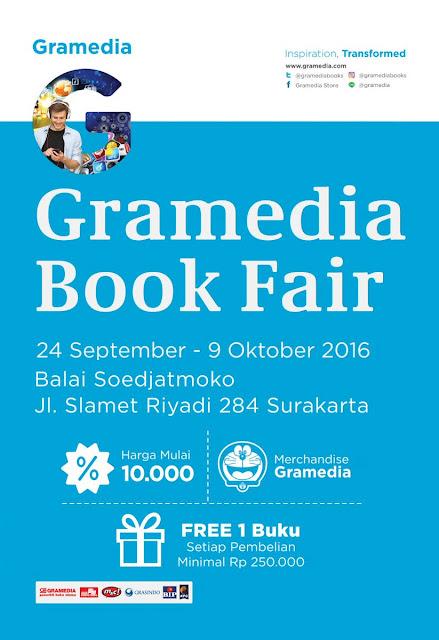 Gramedia Book Fair Surakarta 2016