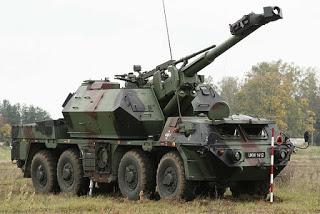 Артилерія Польщі: сучасний стан - 152-мм САУ Дана