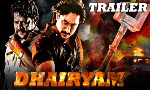 Dhairyam 2017 HDRip 900MB Hindi Dubbed 720p Watch Online Full Movie Download bolly4u
