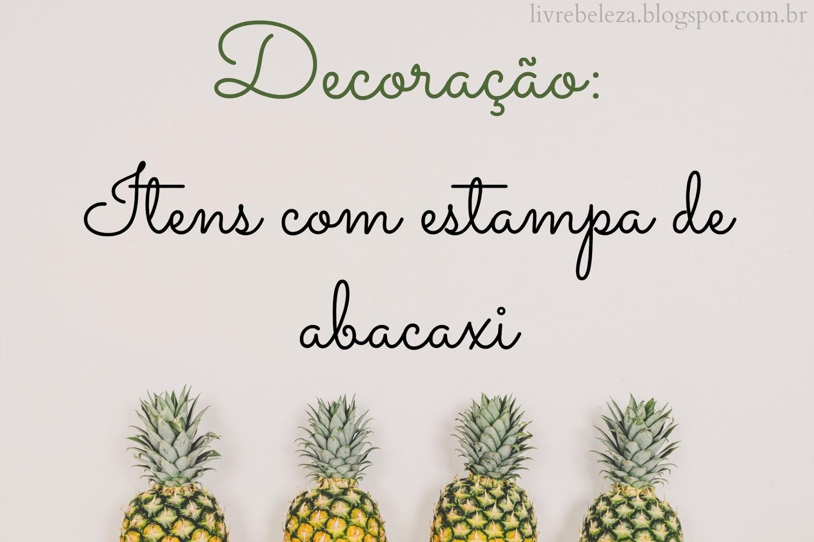 decoraçao-itens-abacaxi-estampa