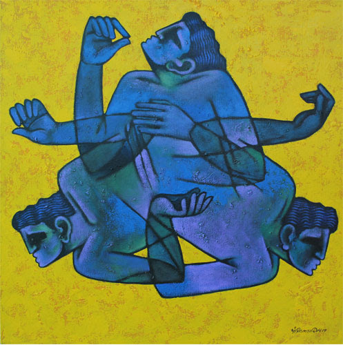 """Aditya Suhas Pandit at Gallery Pradarshak, Mumbai"""