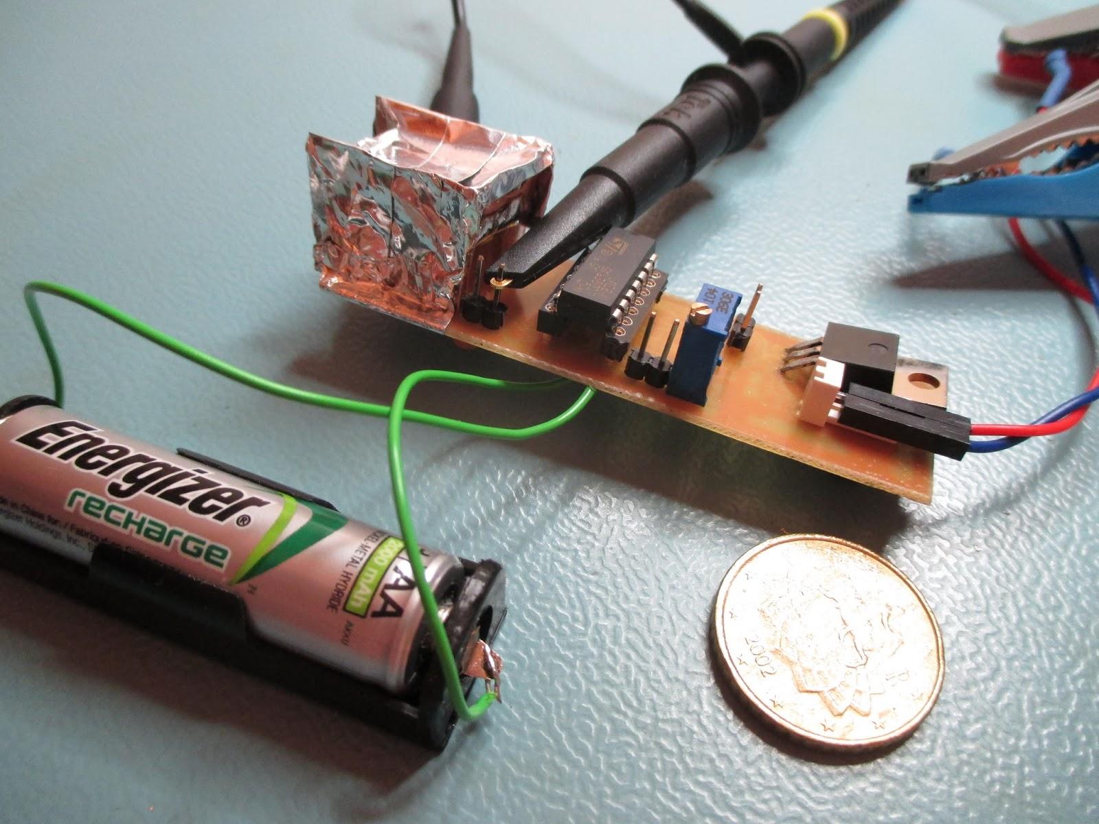 semiconductor radioactivity detector