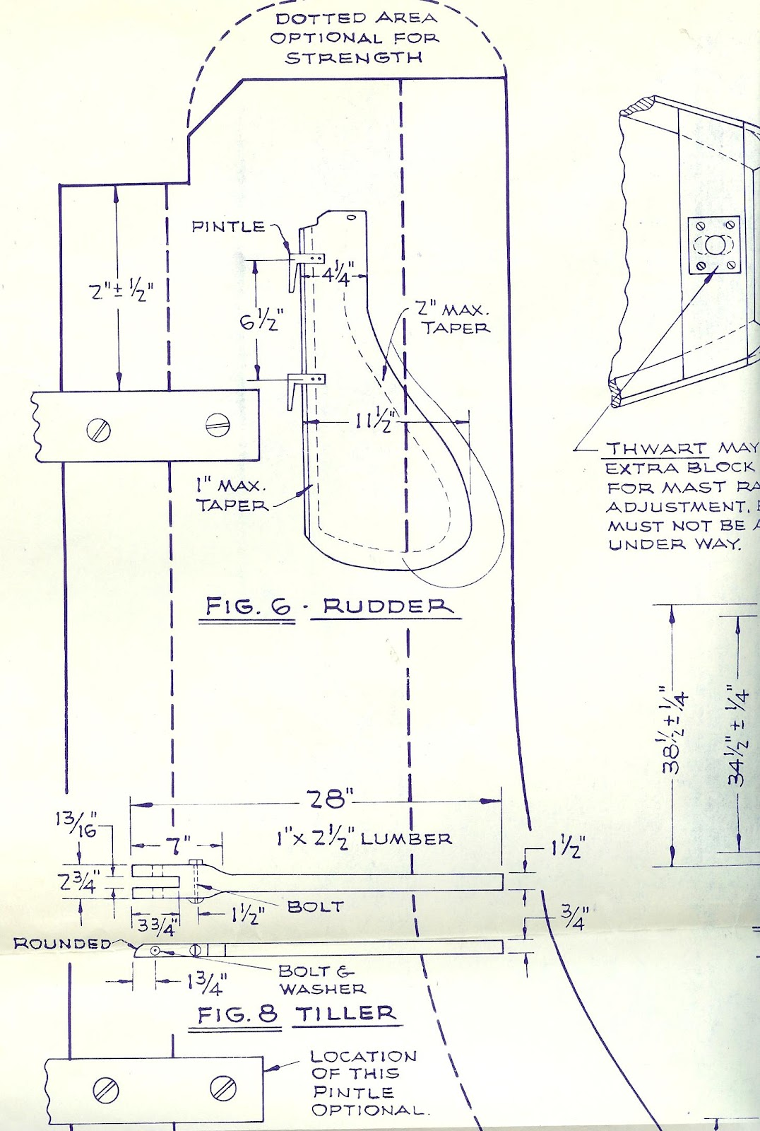 Wooden Optimist: Original Clearwater Plans