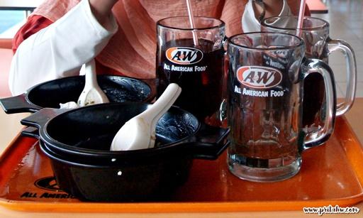citarasa kari A&W Restoran