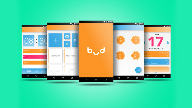 Android app UI and UX : bud