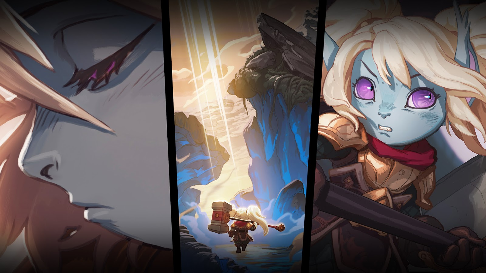 League Of Legends Poppy Wallpaper: Surrender At 20: A Hero's Calling