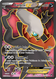Darkrai EX BREAKpoint Pokemon Card