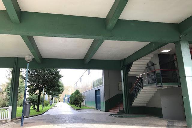 Instalaciones del polideportivo de Gorostiza