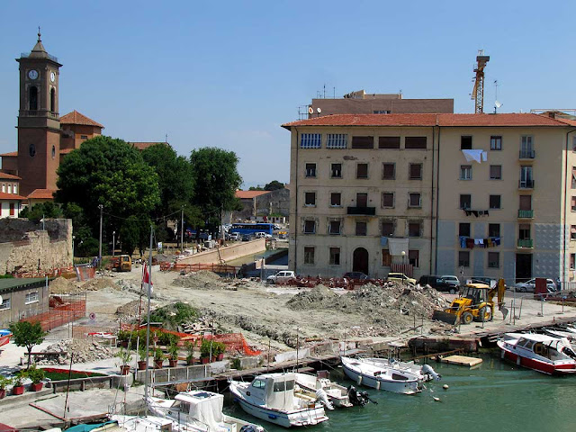 The last tract of the new canal, Livorno
