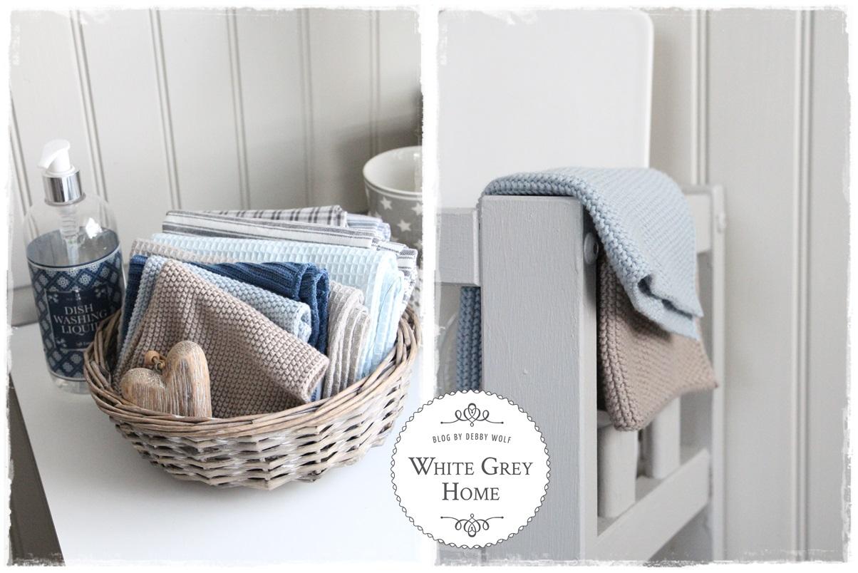 white grey home: Die Küche im Februar