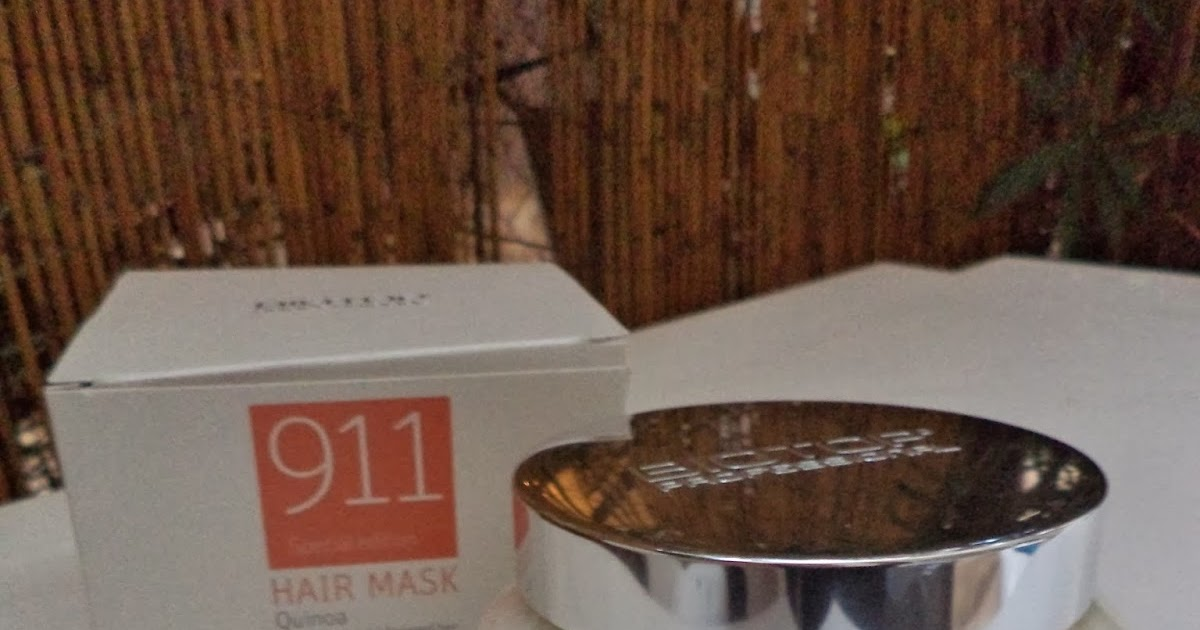 Beauty made fun: Review: Biotop Professional 911 Quinoa Hair Mask for dry and damaged hair