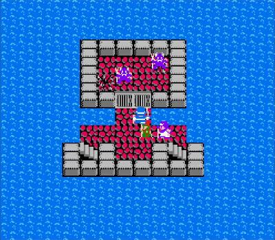 Dragon Warrior II - Bestias encarceladas