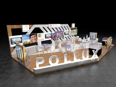 Booth Pollux kontraktor pameran inexpo desain