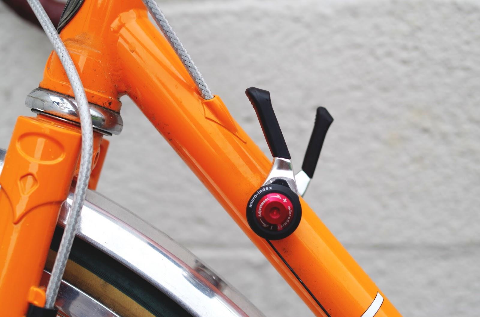 Shimano Sis Derailleur Cable /& Housing Kit Bike Mountain // Orange