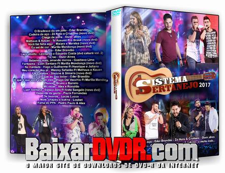 Sistema Sertanejo (2017) DVD-R