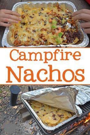 Campfire Grilled Nachos