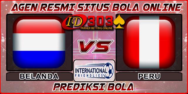 PREDIKSI BOLA BELANDA VS PERU 07 SEPTEMBER 2018