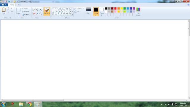 Một vài thủ thuật hay với phần mềm Paint