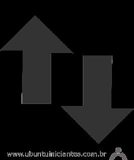 sinal de conexao de rede cabeada no ubuntu
