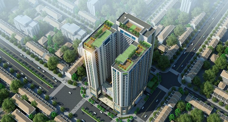 Phối cảnh chung cư TNR Holdings Số 4 Trần Hưng Đạo