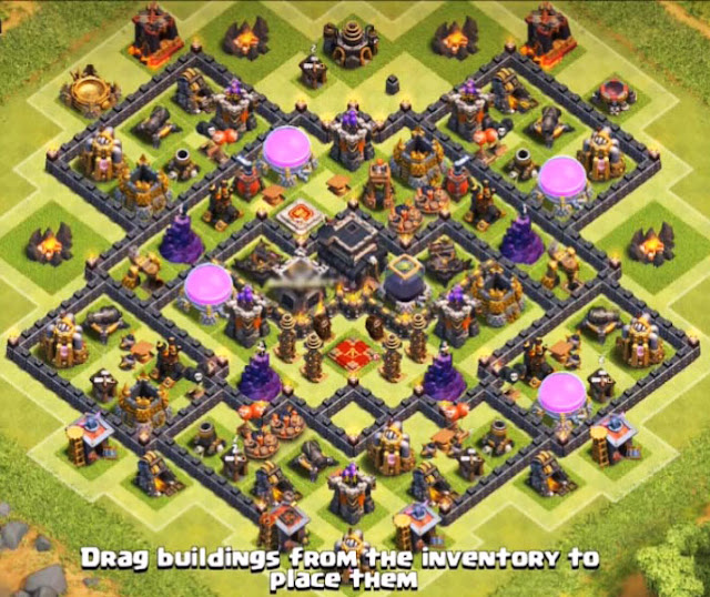 best th9 farming base layout in the world