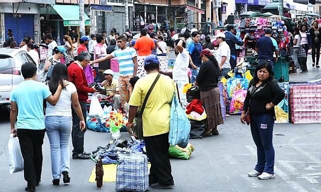 Ambulantes en Lima