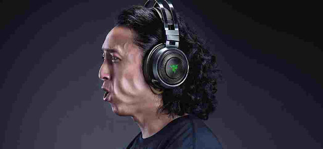Razer Nari Ultimate gaming wireless headset rumbles your ears