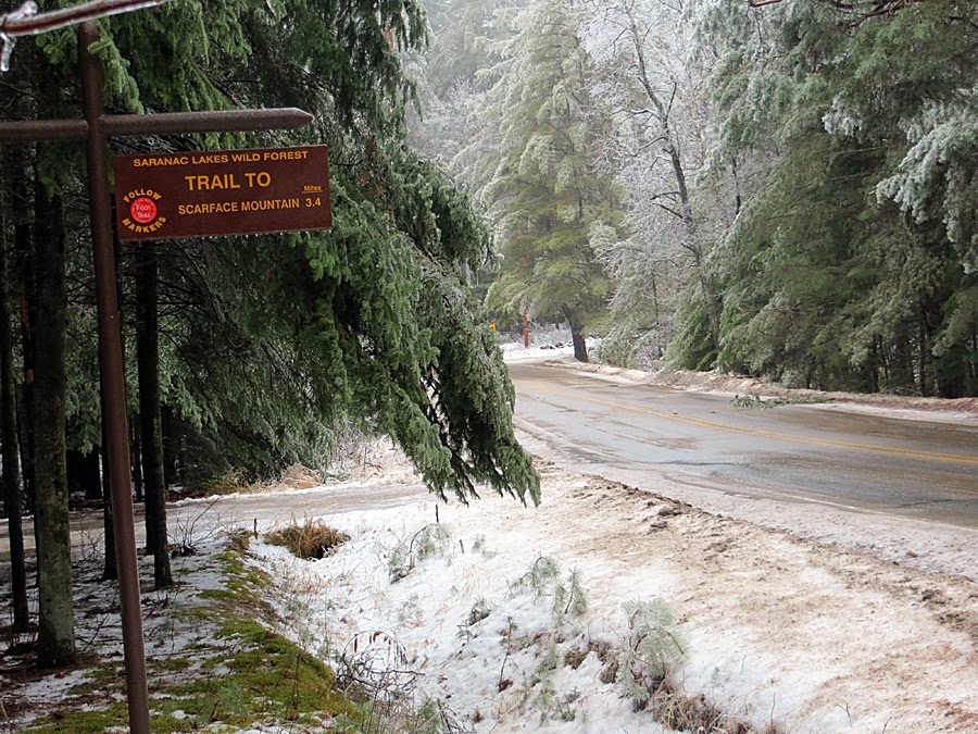 Hiking in the White Mountains and Adirondacks: Scarface Mountain