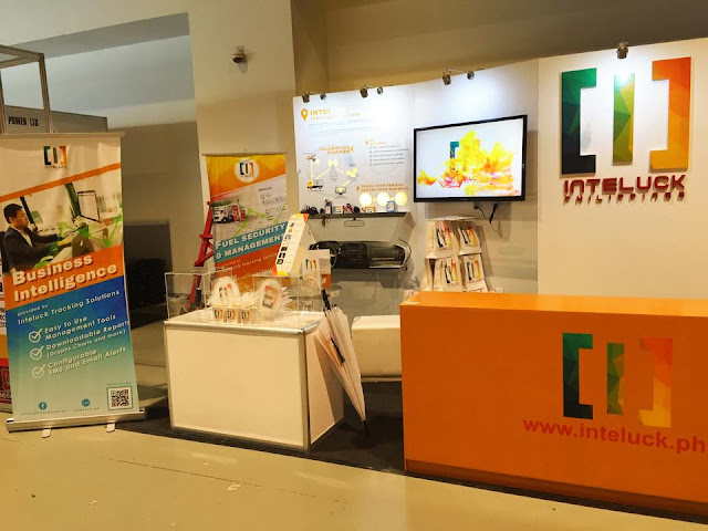 Inteluck Philippines Exhibit Booth