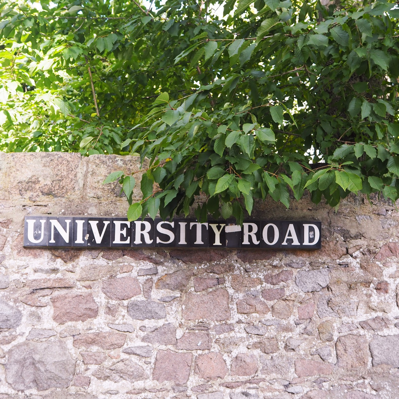 campus of the University of Aberdeen, Aberdeen blogger