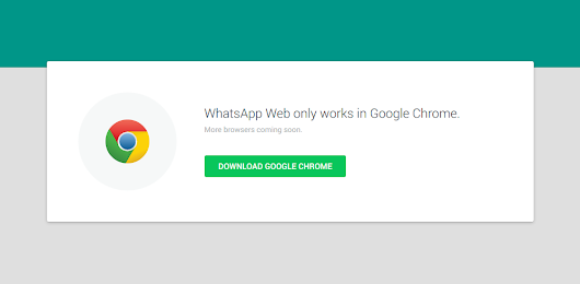 Use Whatsapp Officially On Your Laptop and Desktops.