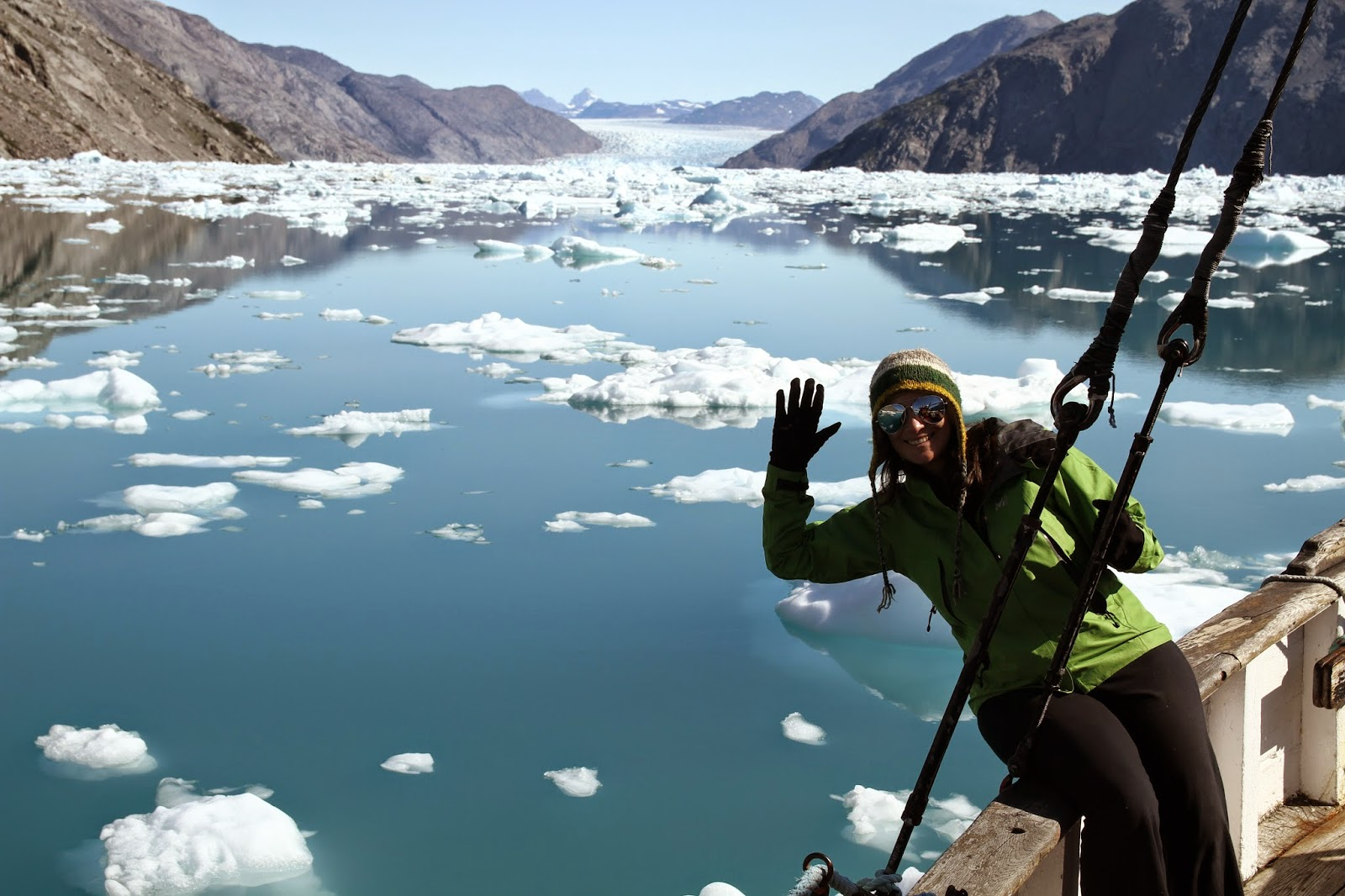 Visitar e compreender os glaciares no FIORDE GELADO DE QOOQQUT | Gronelândia