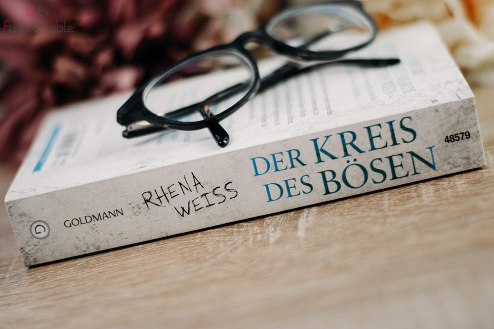 Rhena Weiss - Der Kreis des Bösen Buchrücken