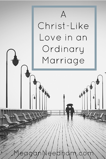 How to better love your spouse with the love of Jesus.
